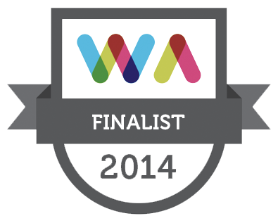 Web Awards, best entertainment website 2014 Finalist
